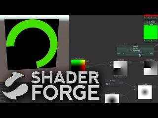 Shader Forge - Gradients (Part 2, Manipulation, Waves & Angular Healthbar)