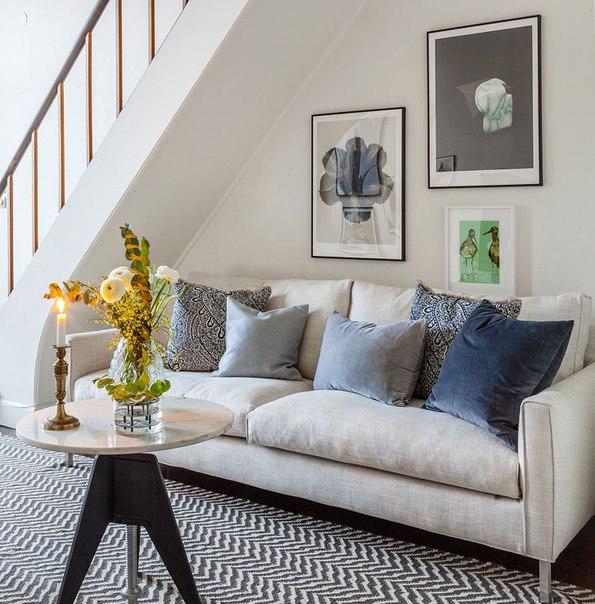 Двухуровневая квартира в спальном районе Стокгольма (92 кв....