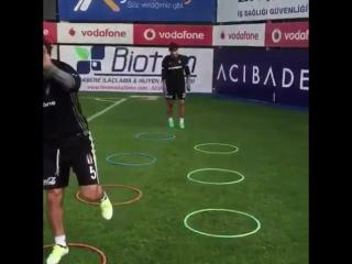 Aras Ozbiliz training
