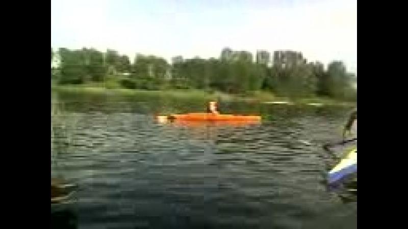 Перші тренування з веслування