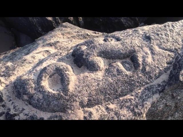 Игорь Алпатов Славянские лики на камнях пляжа в Бруклине часть 2