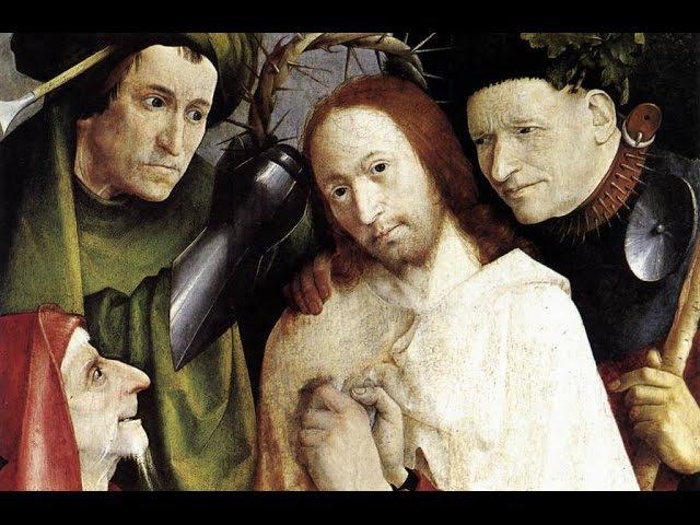 ИЕРОНИМ БОСХ Терновый венец Библейский сюжет