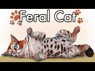 The Sims 4 CATS & DOGS | FERAL CAT | Create a Pet