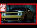 Dodge Challenger SRT Demon 2018 - Offizieller Teaser