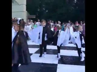 Открытие шахматного турнира в Центральном Парке