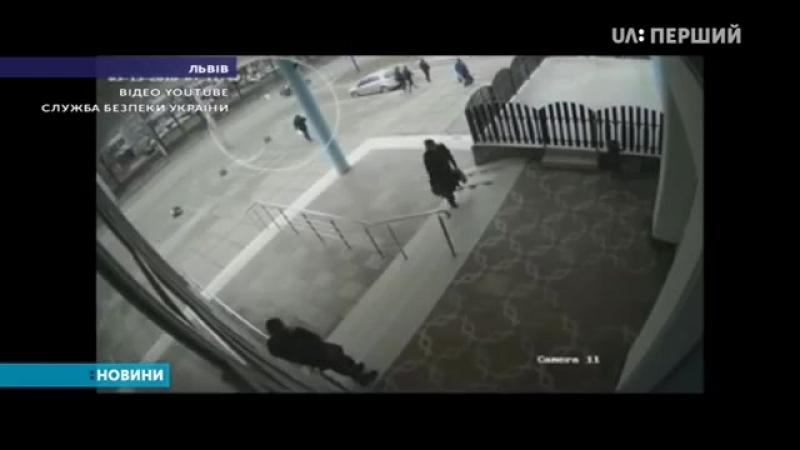 СБУ оприлюднила відео, на якому зафіксовано підрив польського меморіалу у Львові