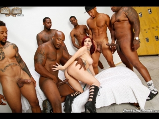 Pictures From Amber Ivy in 'Dogfart' (Blacks On Blondes)