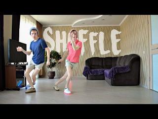 Shuffle Dance. How to Shuffle. Vanila Ice - Ice Ice Baby. Electro & House Mix.