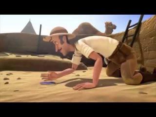 Мультик от Pixar Египетская пирамида и пульт