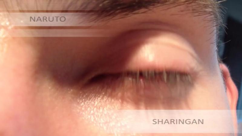 Глаза из Наруто в реальной жизни!