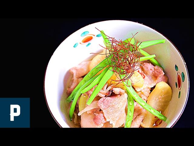 簡単 豚肉と大根の煮物 Japanese radish and pork libs stew Japanese FOOD recipes