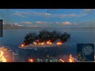 Новые спец. эффекты: пожар на корабле