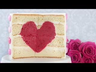 () Торт Сердце. Подарок на день Святого Валентина