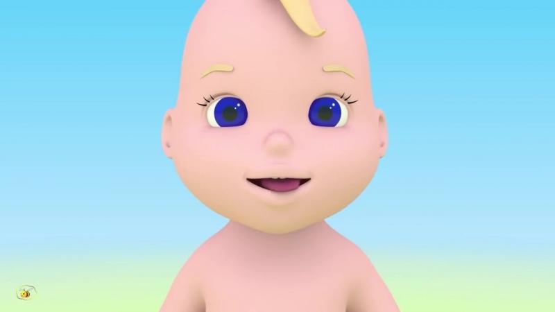 Учим части тела Учимся с Масиком лицо Развивающий мультфильм от 12 до 36 меся