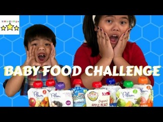 Baby Food Taste Challenge by 3mazings