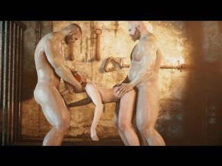 3D porn - Triss Merigold (The witcher sex collection)