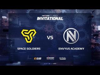 Space Soldiers vs EnVyUs Academy, map 2 inferno, SL i-League Invitational Shanghai 2017 EU Qualifier
