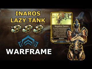 Warframe Builds - Inaros Lazy Tank Build (3 Forma)