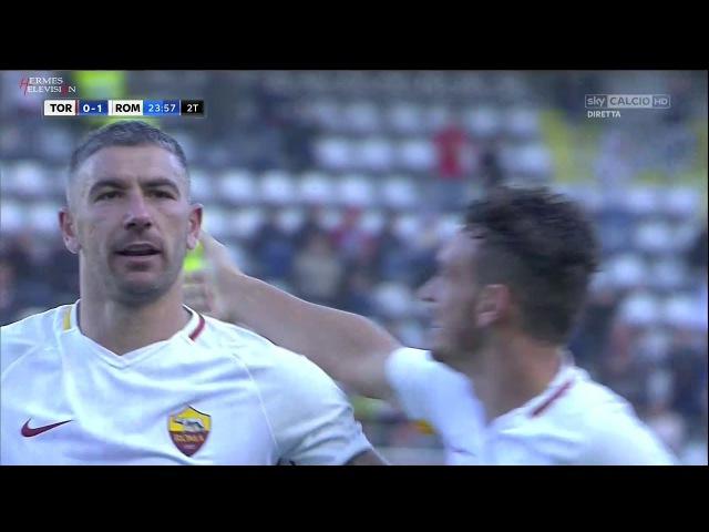 Torino Roma 0 1 Ampia Sintesi SKY All Goals Highlights Serie A 2017 HD