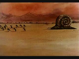 Les Escargots \ Улитки (1966) режиссёры René Laloux et Roland Topor \ Рене Лалу и Роланд Топор. Франция
