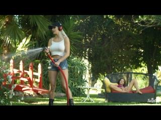 Kenzie Taylor & Milana May in Water Hazard [Squirt, Lesbian, Blonde, Brunette, Hairy Pussy, Masturbation, 1080p]