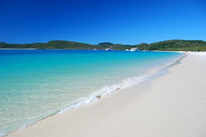 Белый Рай. Один из лучших пляжей Австралии, изображение №6