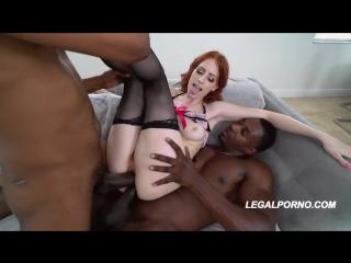 Alex Harper - Bad Ass Alex in her American BBC, mfm double penetration dp anal porno