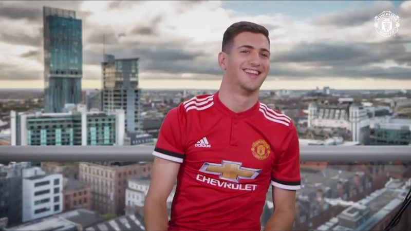 Diogo Dalot speaking Mancunian is great