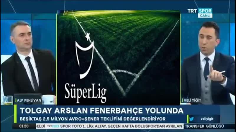 Transfer Günlüğü ¦ Fenerbahçe ve Beşiktaş Transfer Haberleri ¦ Trtspor 30 ocak