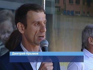 ГТРК ЛНР. Участники Народного схода заявили, что не покинут родные города и поселки Донбасса
