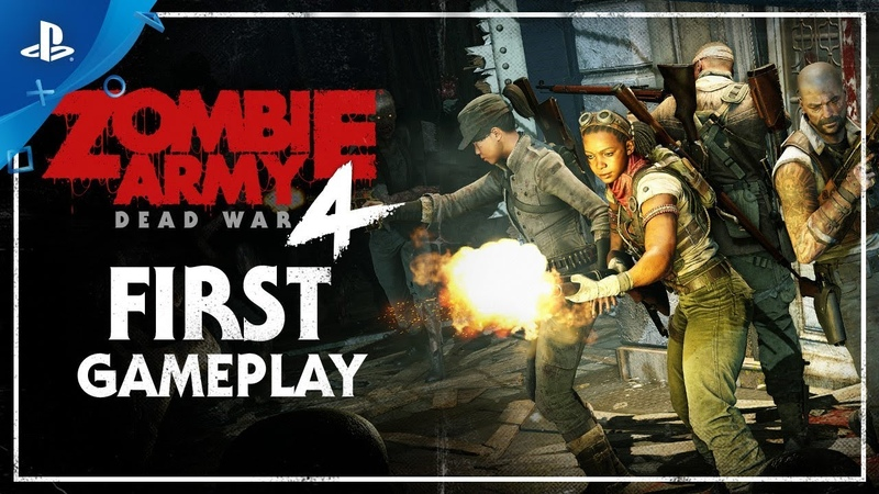 Zombie Army 4 Dead War E3 2019 First Gameplay Demo PS4