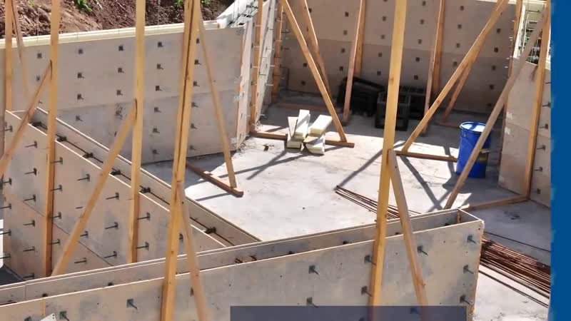 Как построить дом своими руками_ Опалубка. Фундамент. Армопояс. Стены