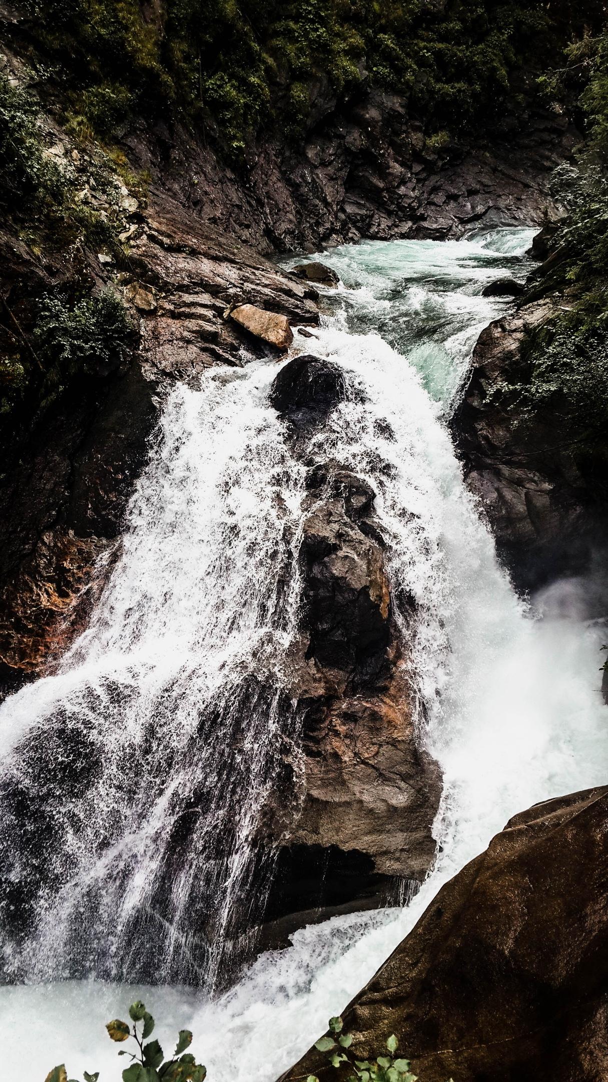 Австрия, Криммльские водопады, август 2019