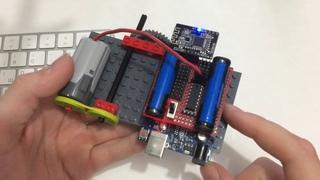 6000 - Первый старт управление моторами Lego с Arduino через Bluetooth с пк