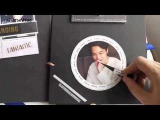 BTS Jimin Scrapbook