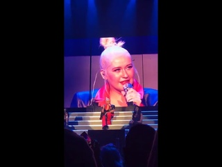 Christina Aguilera - Keep On Singin' My Song & CHUD @ Liberation Tour in Atlantic City 9/28/18