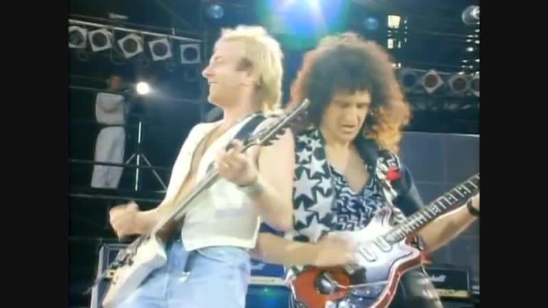 Now Im Here Def Leppard Brian May