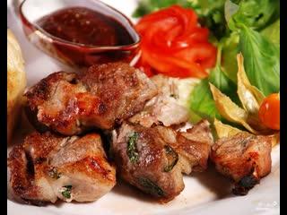 Лучший маринад для шашлыков!  Мясо получается очень мягким и сочным