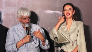 Vikram Bhatt And Sanaya Irani At Press Meet Of Film Ghost