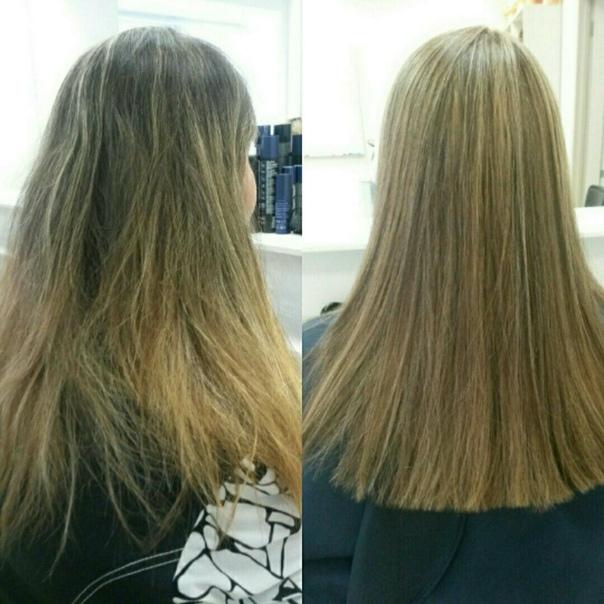 представляет собой окрашивание волос лежа фото до и после озере острове