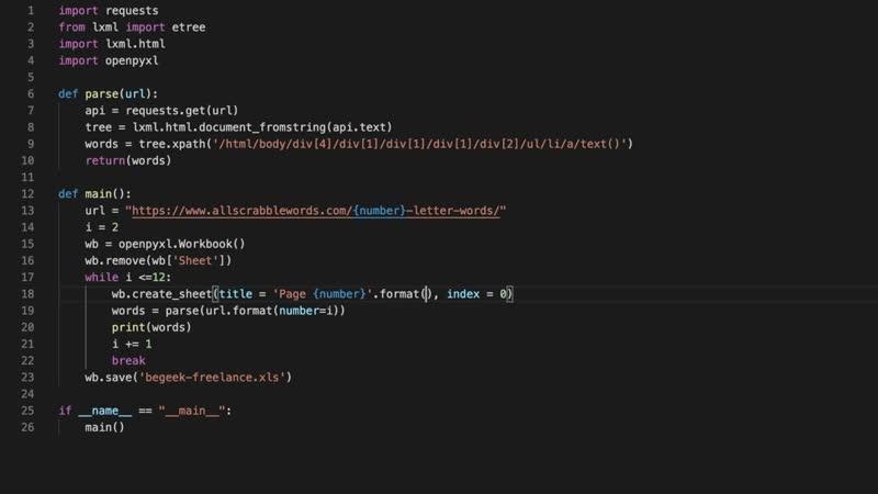 Python ищем заказы на фриланс и выполняем их 2 Python openpyxl lxml requests