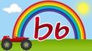 Развивающий мультик для детей, алфавит с машинкой, буква Ь