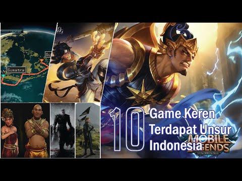 10 Game Keren Terdapat Unsur Indonesia