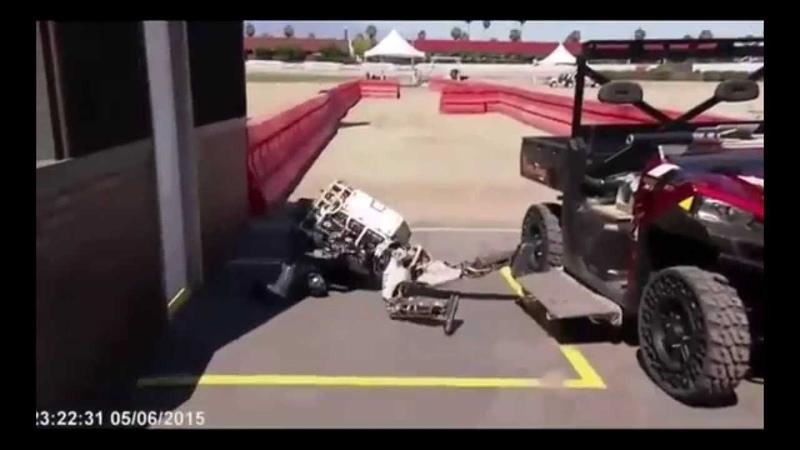 Будущее наступило Пьяные роботы Drunken robots