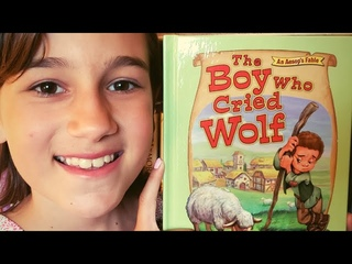 The Boy Who Cried Wolf Book Read Aloud by Kaylie - Ep 5 StoryVerse