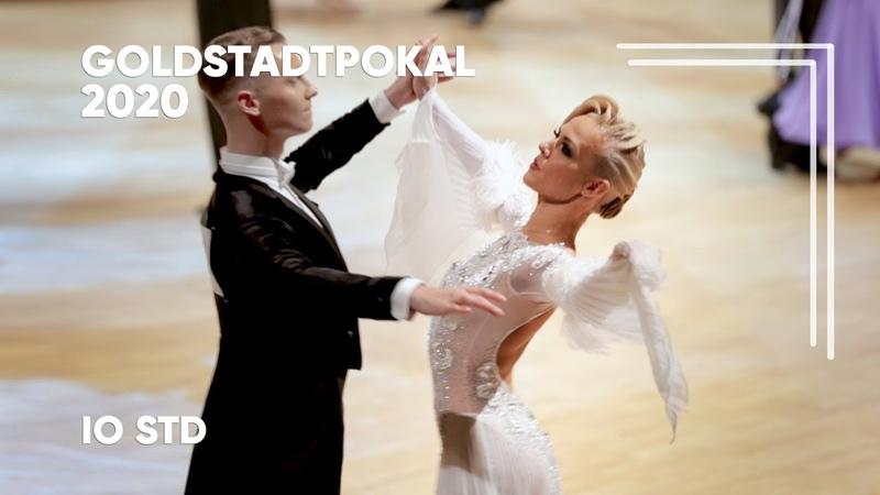 Evaldas Sodeika - Ieva Zukauskaite, LTU   2020 GoldstadtPokal   IO STD - F T