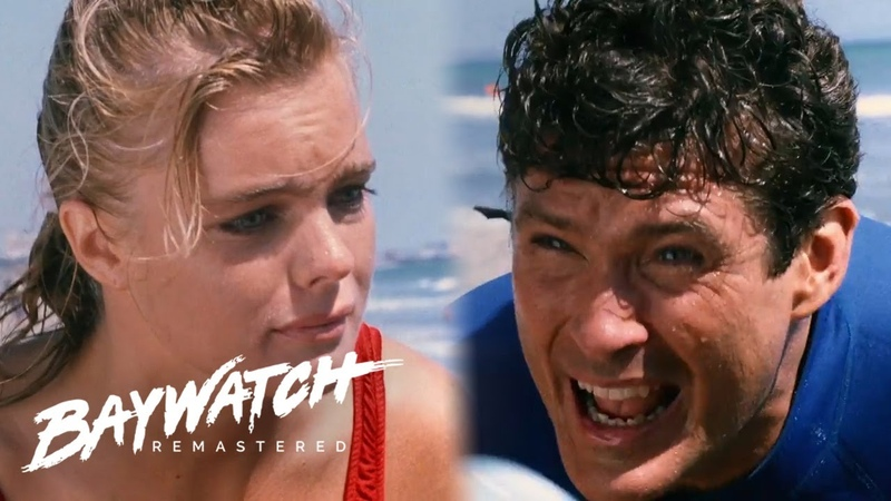 Brother Calls For Help As His Sister Begins To Drown Mitch Rushes To Help Out Baywatch