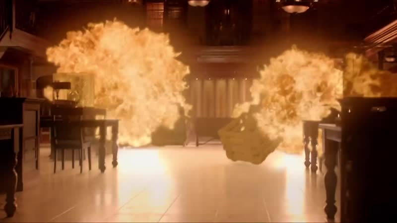 Дневники вампира 8 сезон 16 серия ★ Бони спасает Мистик Фолс от огня
