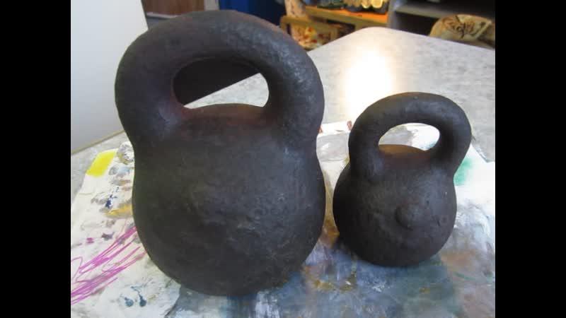 Весовые гирьки фунты СОРМОВО 10 и 3