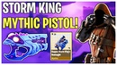 Mythic Headshot Aimbot Pistol! Storm King's Onslaught Weapon Review | Fortnite Save The World